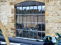 """Crittall"" windows and doors"