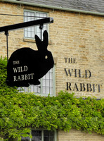 external views of The Wild Rabbit pub, Kingham