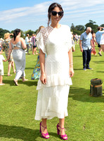celebrity guest Stephanie Mendoros at Gold Cup Polo 2018