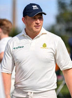 Dylan Hartley in cricket whites