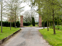 Entrance gates to Eye Manor
