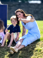Royals at Maserati Charity Polo, Beaufort Polo Club