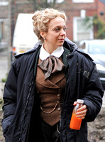 Amanda Abbington period attire for Sherlock