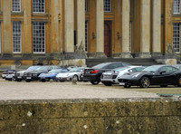 Set getting ready to film latest James Bond Movie at Blenheim Palace, Oxfordshire 'Spectre