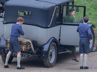 "Fiming on location - ""The Crown"" at Woodchester Park and Mansion, Gloucestershire"