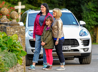 Ashley Jensen and Katy Wix plus one other female child