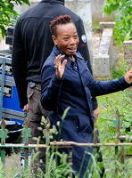 'Broadchurch' season 2 filming in Clevedon, Somerset - June 2014