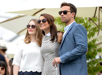 Cara Theobold, Samantha Barks and Richard Fleeshman