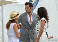 David Gandy with new girlfriend, junior barrister Stephanie Mendoros