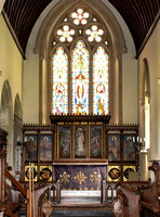 St Mark's church, Englefield, interior views