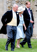 Earl and Countess of Romney, with HRH Duke of Cambridge