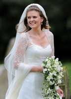 Lady Laura Marsham, bride