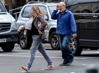 Keith Allen and Tamzin Malleson, casual