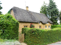 thatched cottages in Great Tew