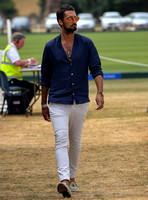 celebrity guest Hugo Taylor at  Gold Cup Polo 2018
