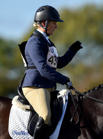 Zara Tindall riding Castle Black