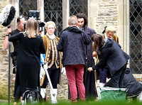 First look as the eagerly awaited Poldark season 4 begins filming, Chavenage House, Tetbury Gloucestershire - 5th September, 2017