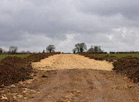 new entrance drive to Beaconsfield Farm