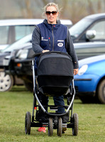 Zara Phillips takes new baby Mia to Point-to-Point Meet - 29th March, 2014