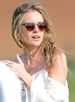 Cressida Bonas spotted at polo match -