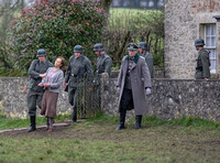 'Louisa Gould' played by Jenny Seagrove frog marched from her home by Nazi soldiers