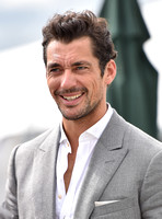 David Gandy attends glitzy polo event with glamorous new barrister girlfriend Stephanie Mendoros