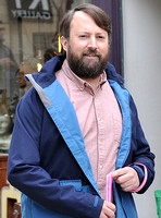 "David Mitchell filming new sitcom series ""Back"" for Channel 4 in Stroud, Gloucestershite - 18th May, 2017"
